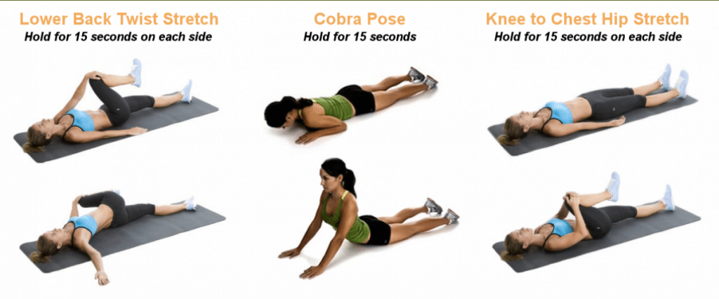 lower back pain stretches wide