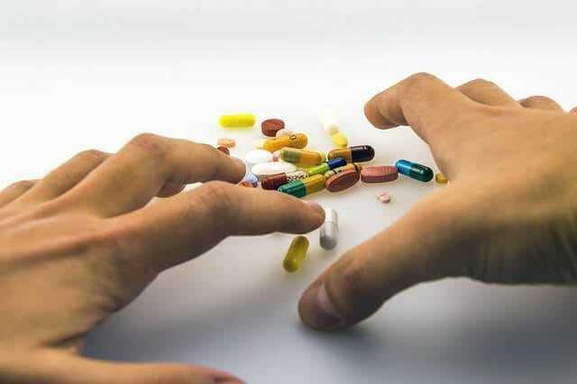 hands medications