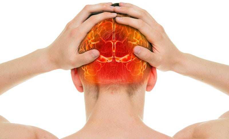 head injury pain