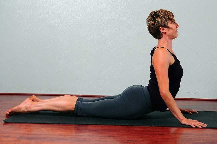 Cobra Yoga Pose for back pain
