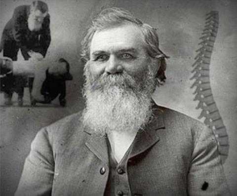 In 1895, Daniel David Palmer