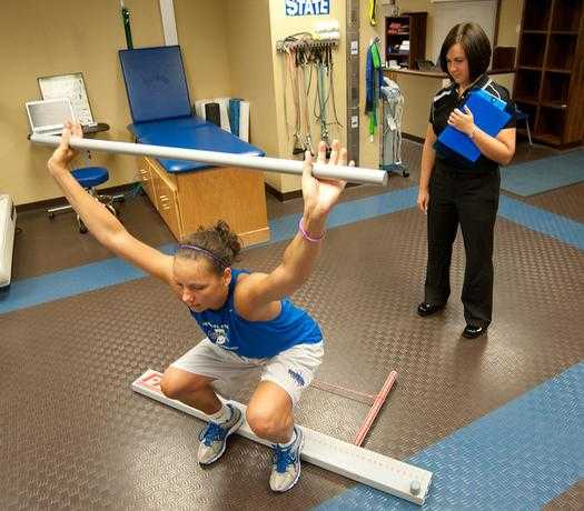 back pain sport