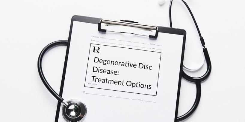 degenerative disc disease treatment options
