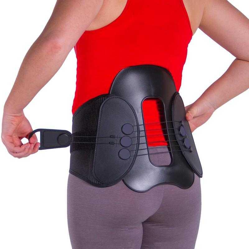 lumbar corset brace