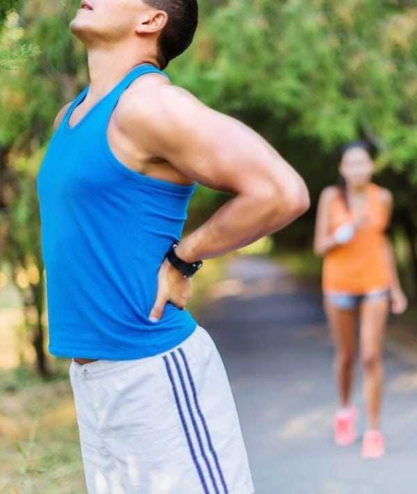 sports injuries backpain