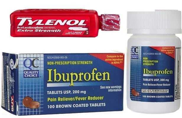 tylenol ibuprofen