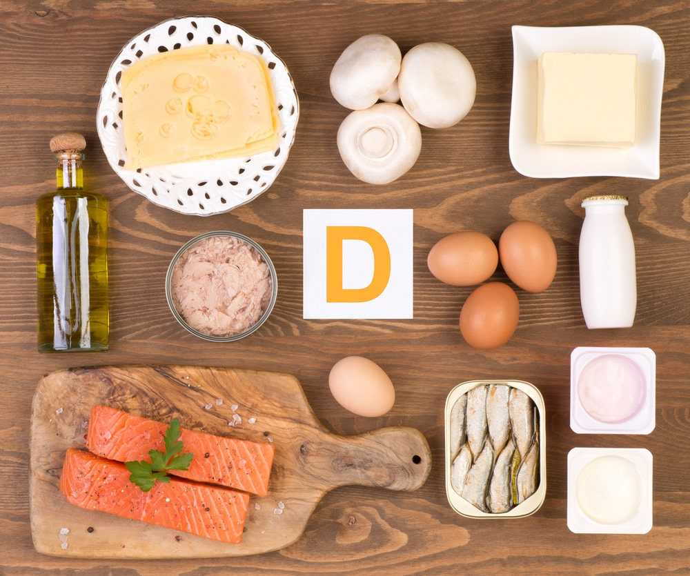 foods containing vitamin d