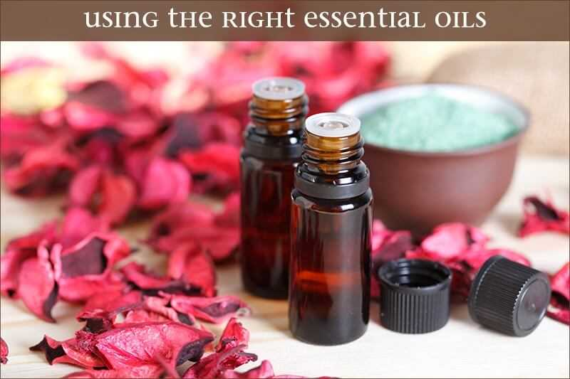 aromatherapy-using the right essential oils