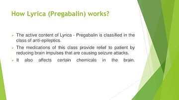 How Does Lyrica Work?
