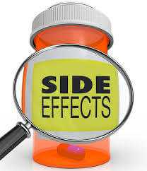 what are the side effects of adiumum?