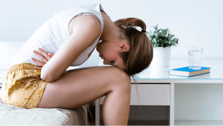 woman in fibromyalgia