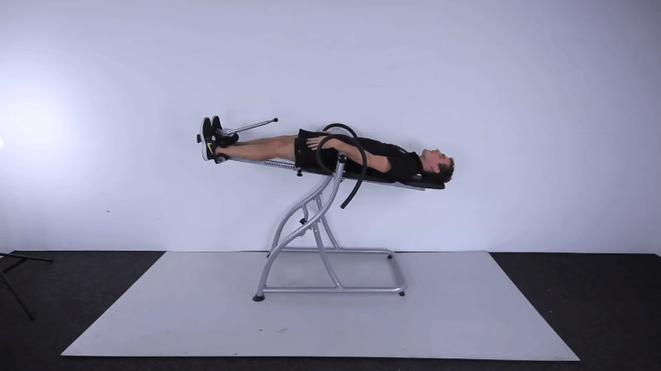 How to use inversion table for back pain
