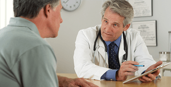 doctor talk to patient