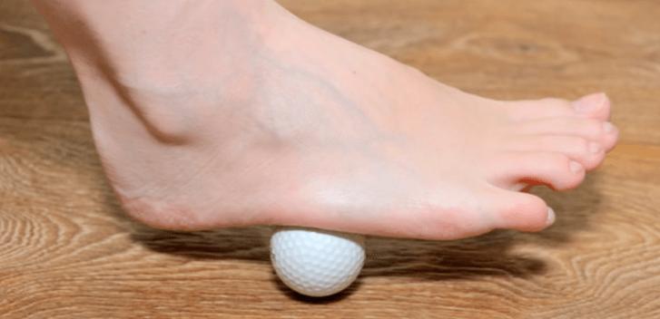 plantar fasciitis exercises tennis ball