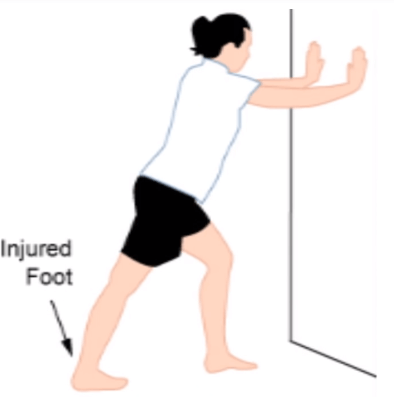 wall stretches for plantar fasciitis