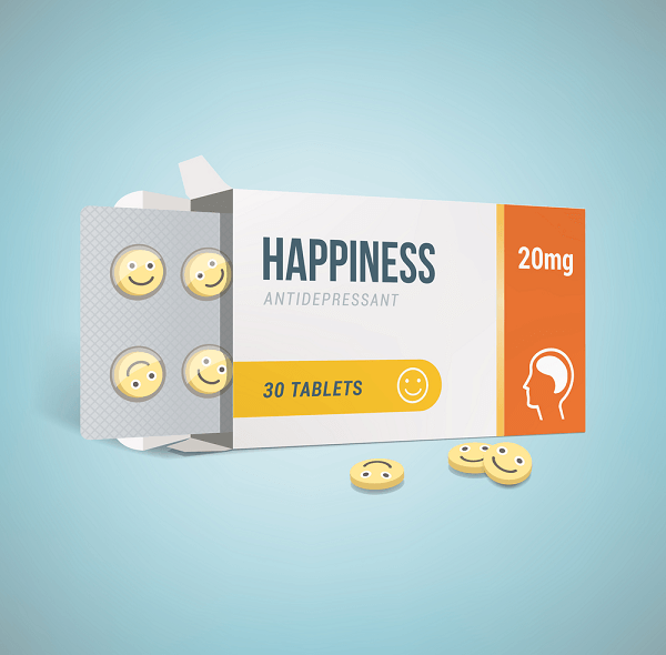 Antidepressants and happiness