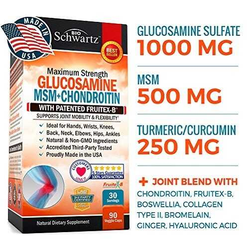 Glucosamine Sulfate For Back Pain Relief