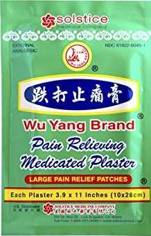Herbal Plasters For Back Pain