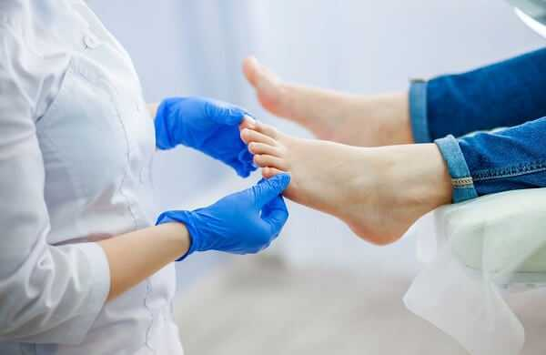 Podiatry doctor plantar fasciitis