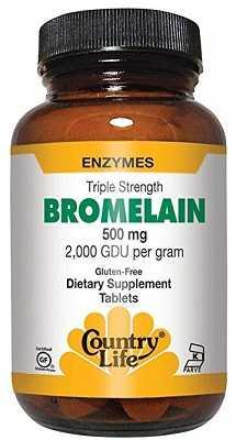 bromelain pills 2000 gdu