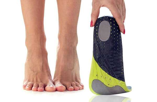 orthopedic insole for plantar fasciitis