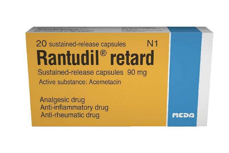 Rantudil drug