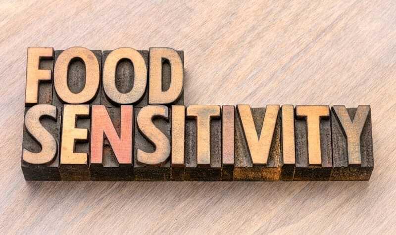 sensitivity to food