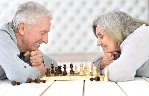 playing chess for Alzheimer's Disease