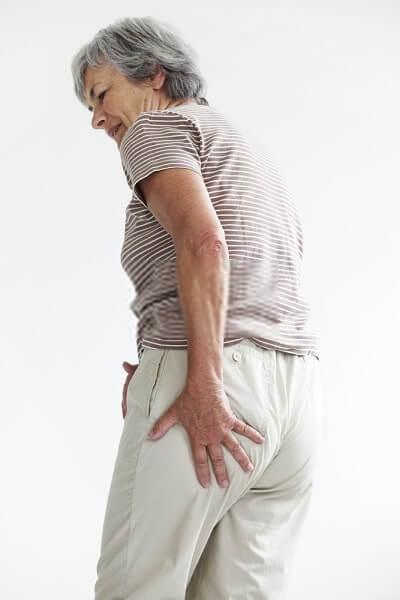 Sciatica elderly person
