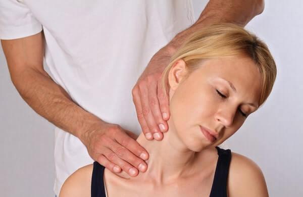 Alternative medicine, pain relief concept
