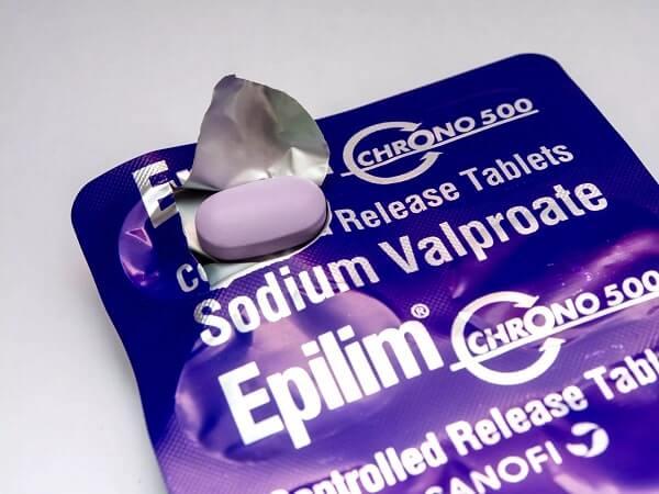 valproate for epilepsy