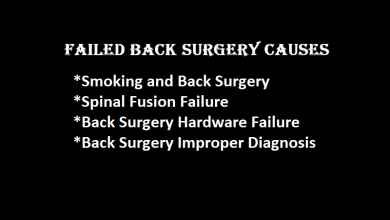 Photo of Failed Back Surgery Causes