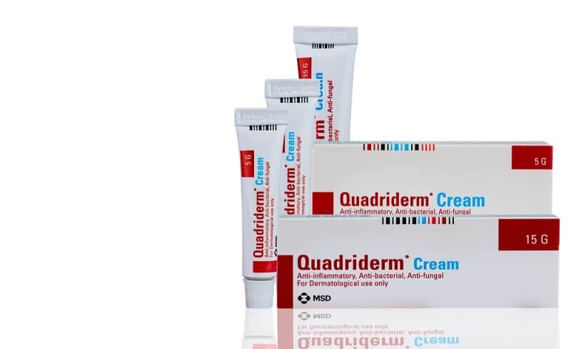 Quadriderm cream for anti-inflammatory