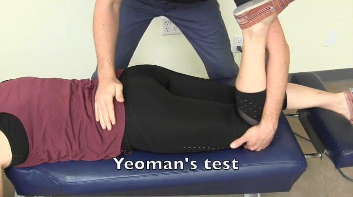Yeoman's test