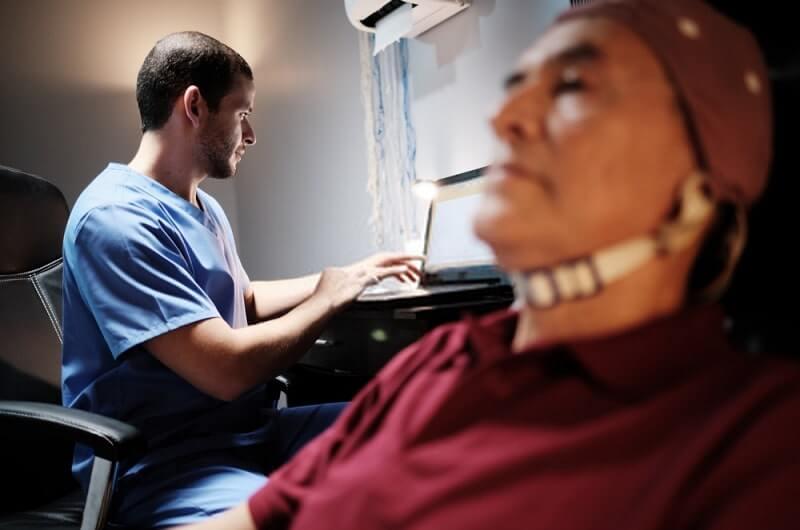 electroencephalogram test for alzheimer
