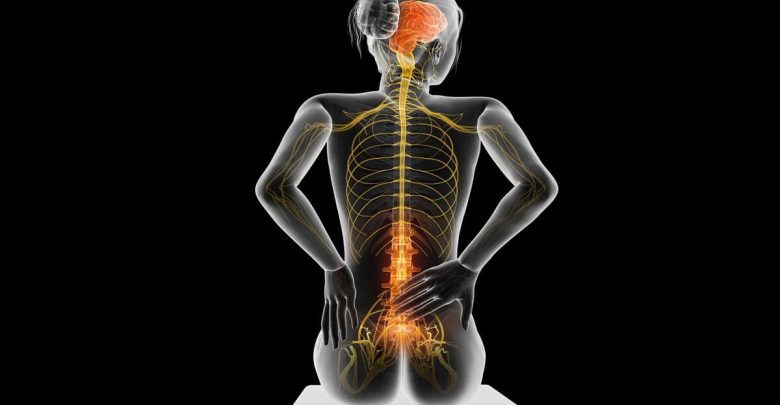 Acute pain in a woman