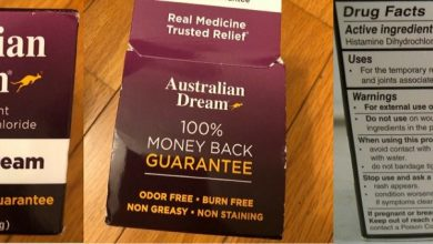 australian dream back pain relief